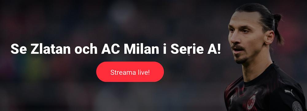 Milan på TV idag