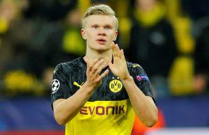 Erling Haaland lön i Dortmund