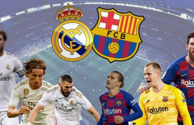 Real Madrid Barcelona live streaming gratis direkt? Se här!