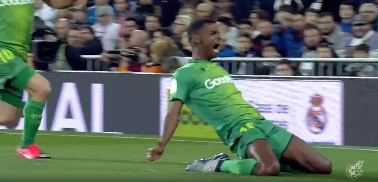 VIDEO: Alexander Isak med konstmål mot Real Madrid