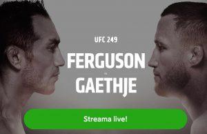 Se Ferguson vs Gaethje stream gratis live? UFC 249 fight live inatt!