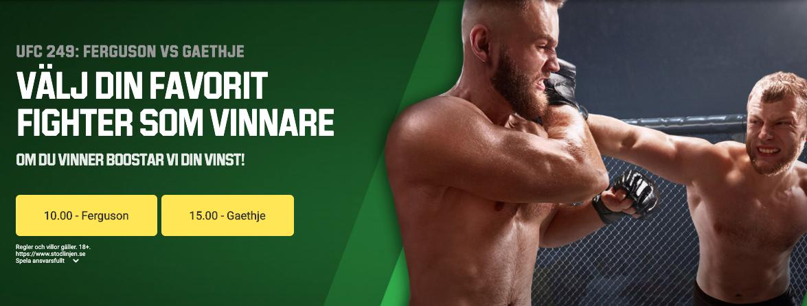 Tony Ferguson Justin Gaethje odds & speltips - The Mauler tips inför UFC 249