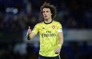 Uppgifter: David Luiz förlänger med Arsenal