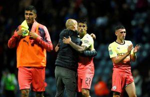 Guardiola hyllar Cancelo - som ryktats vara på väg bort
