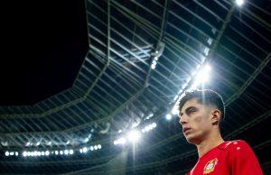 Kai Havertz vill lämna Bayern Leverkusen