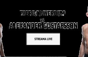 Se Gustafsson vs Werdum stream gratis live? UFC Fight Island live inatt!