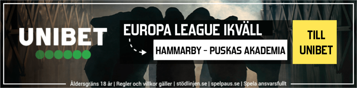 Hammarby Puskas Akademia stream 2020