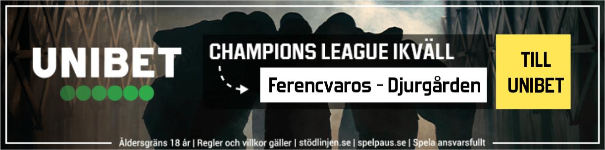 Vilka möter Djurgården i Champions League