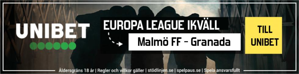 Malmö FF Granada TV kanal