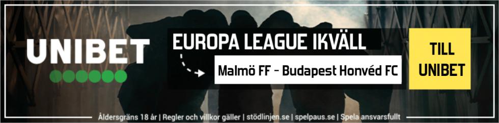 Malmö FF Honved TV kanal