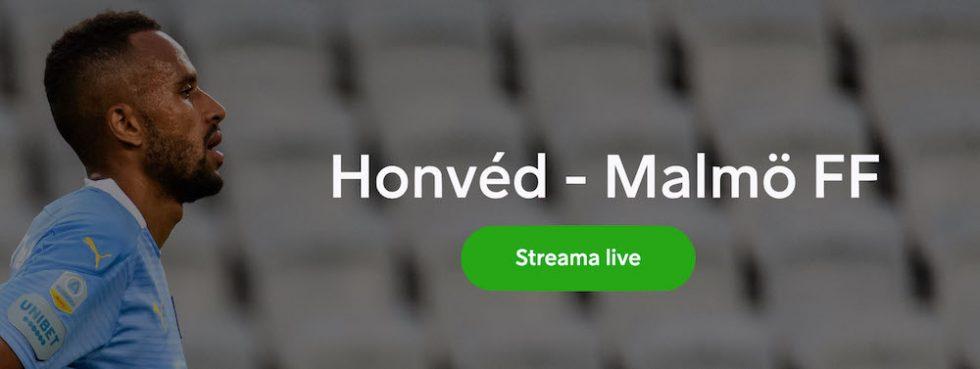 Malmö FF Honved stream 2020