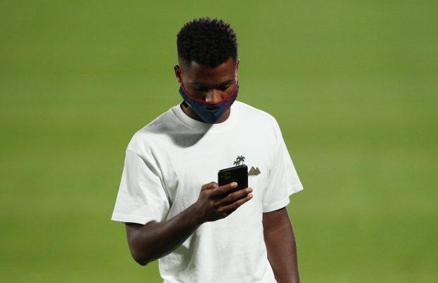 Officiellt: Ansu Fati skriver nytt kontrakt med FC Barcelona