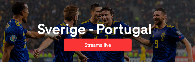 Sverige Portugal stream 2020