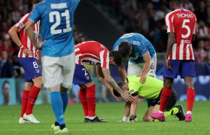 Uppgifter: Atlético Madrid nobbar miljardbud på Giménez