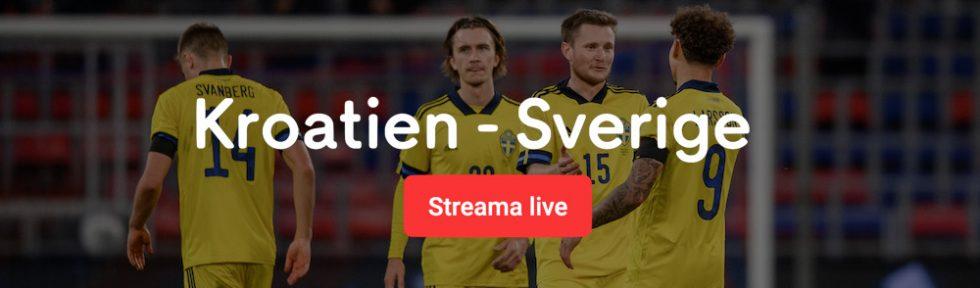 Sverige Kroatien stream 2020