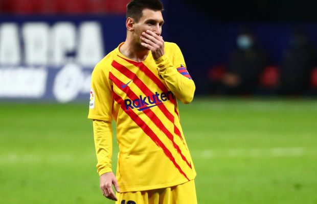 Manchester City erbjuder Messi kontrakt till 2031
