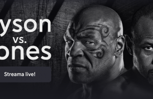 Mike Tyson Roy Jones TV kanal vilken kanal sänder Tyson Jones på TV