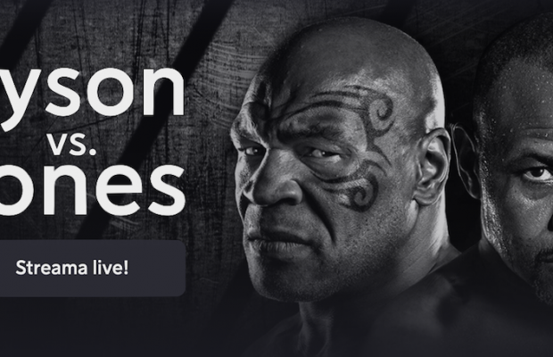 Mike Tyson Roy Jones TV kanal vilken kanal sänder Tyson Jones på TV