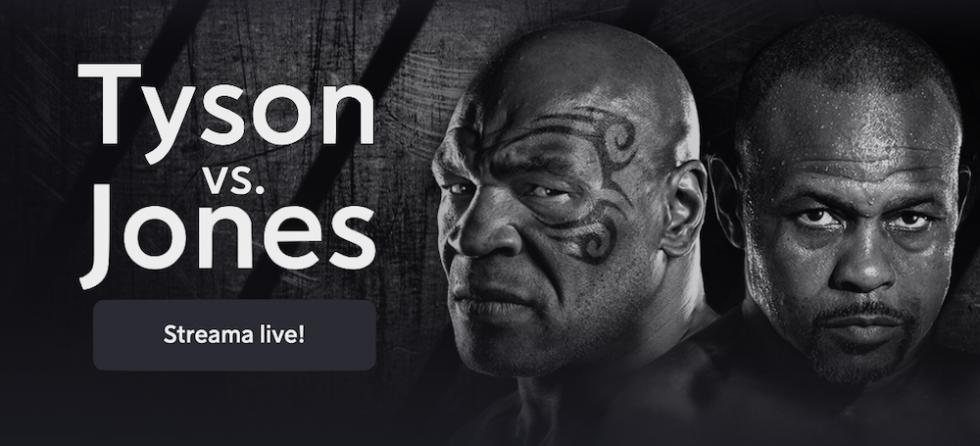 Se Mike Tyson vs Roy Jones stream gratis live? Tyson Jones boxning live inatt!