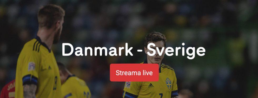 Sverige Danmark stream 2020