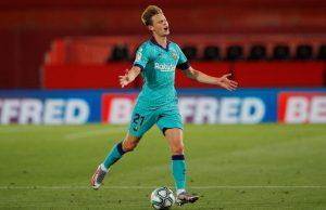 Bayern München intresserade av Frenkie de Jong